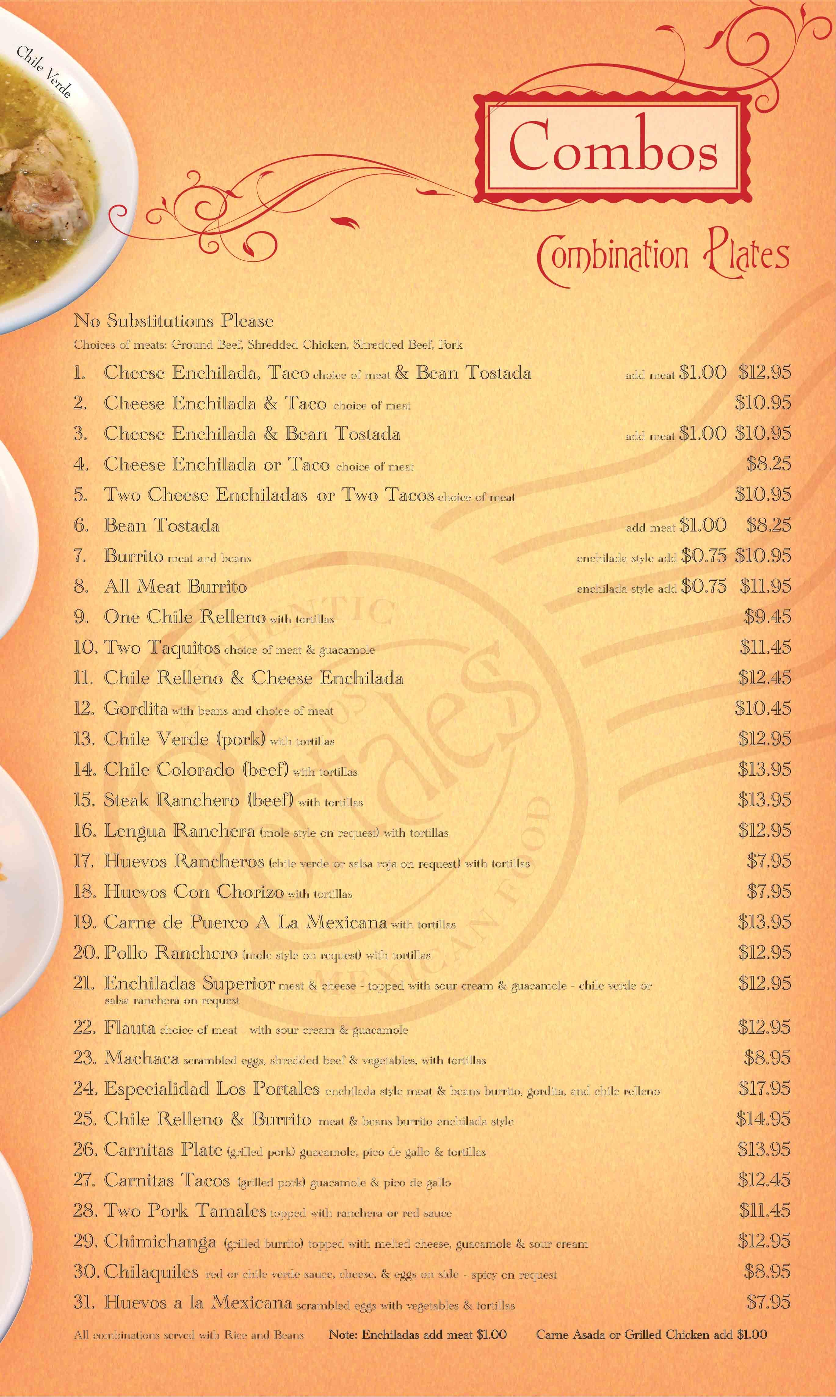 menu archive los portales
